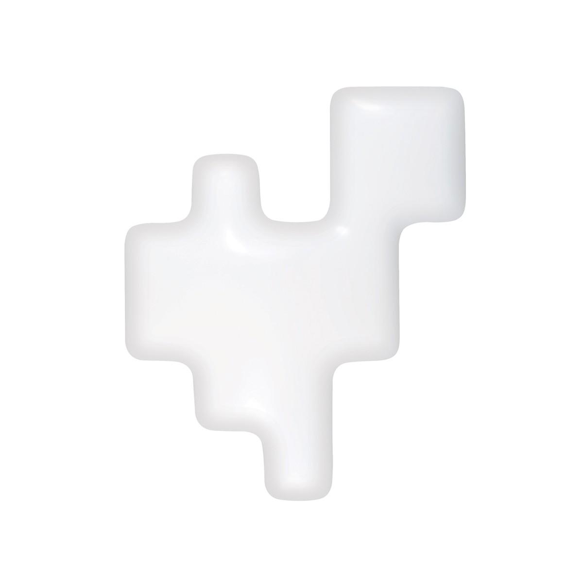 Kundalini Pixel Wand- / Deckenleuchte, weiß