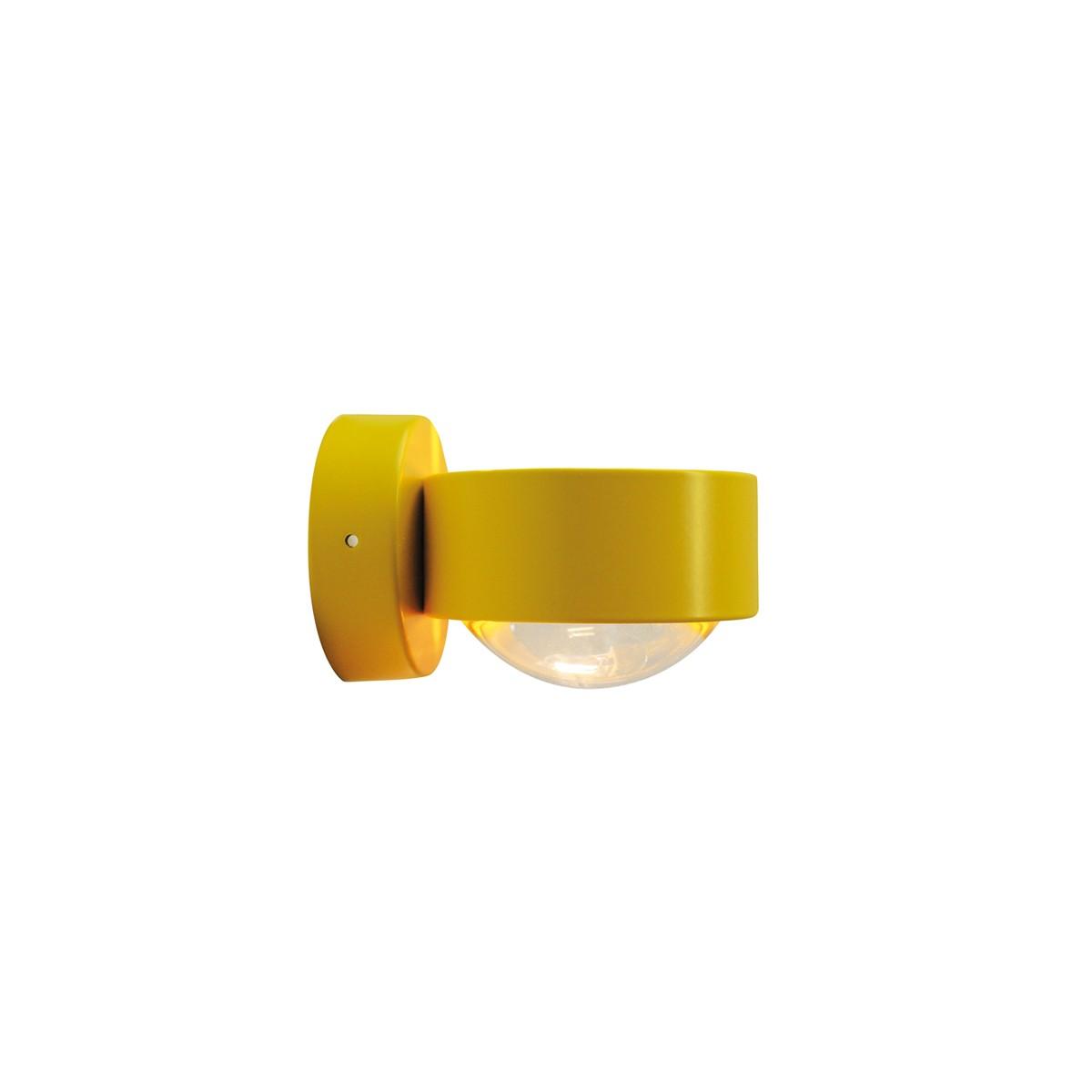 Top Light Puk Wall Wandleuchte, gelb