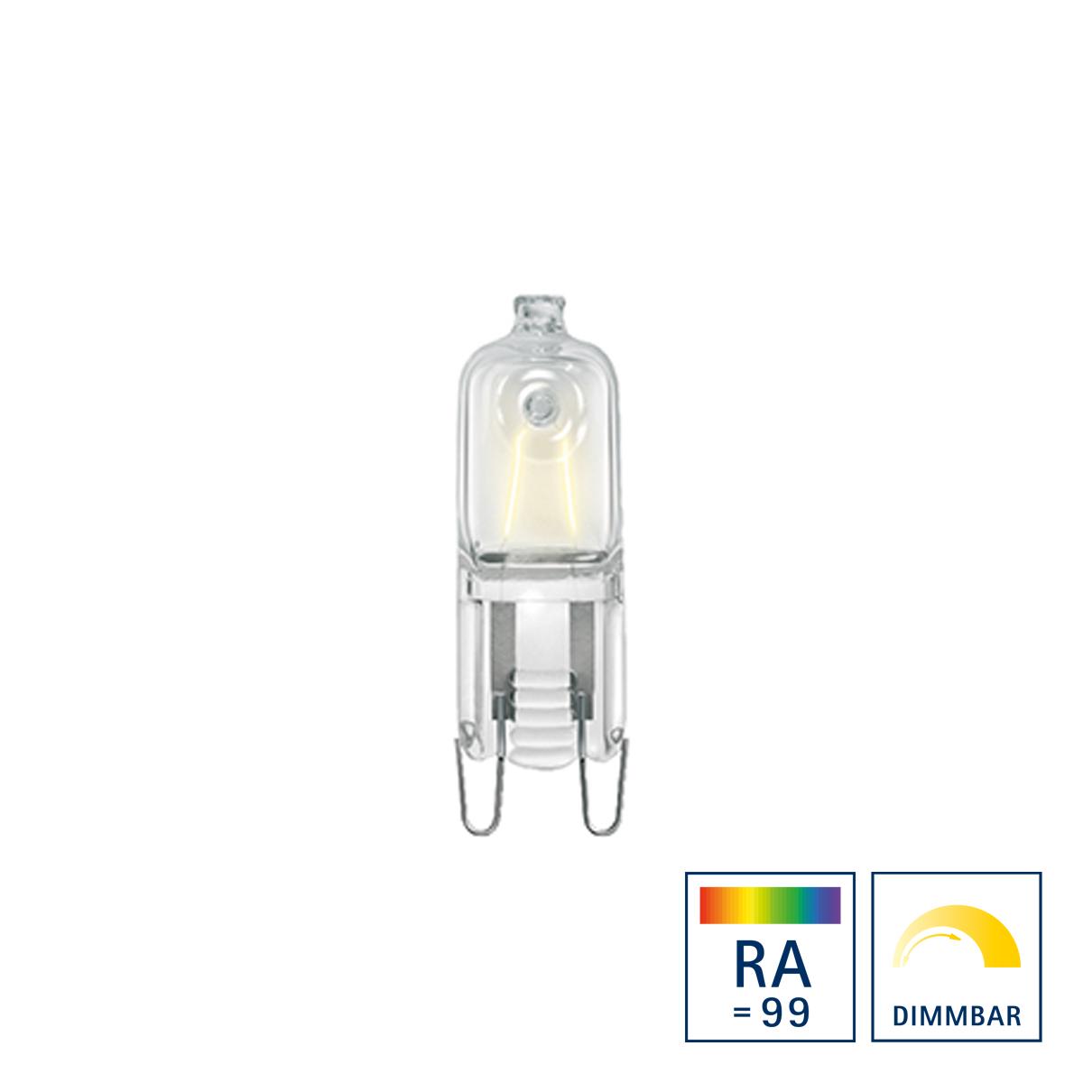 Sigor Halogenlampe 230 V G9, 33 W