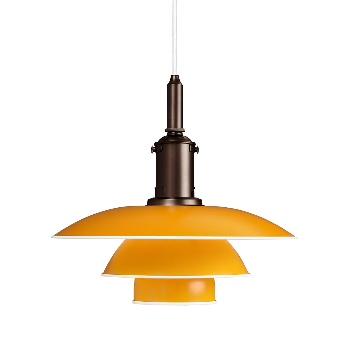 Louis Poulsen PH 3½-3 Pendelleuchte, gelb