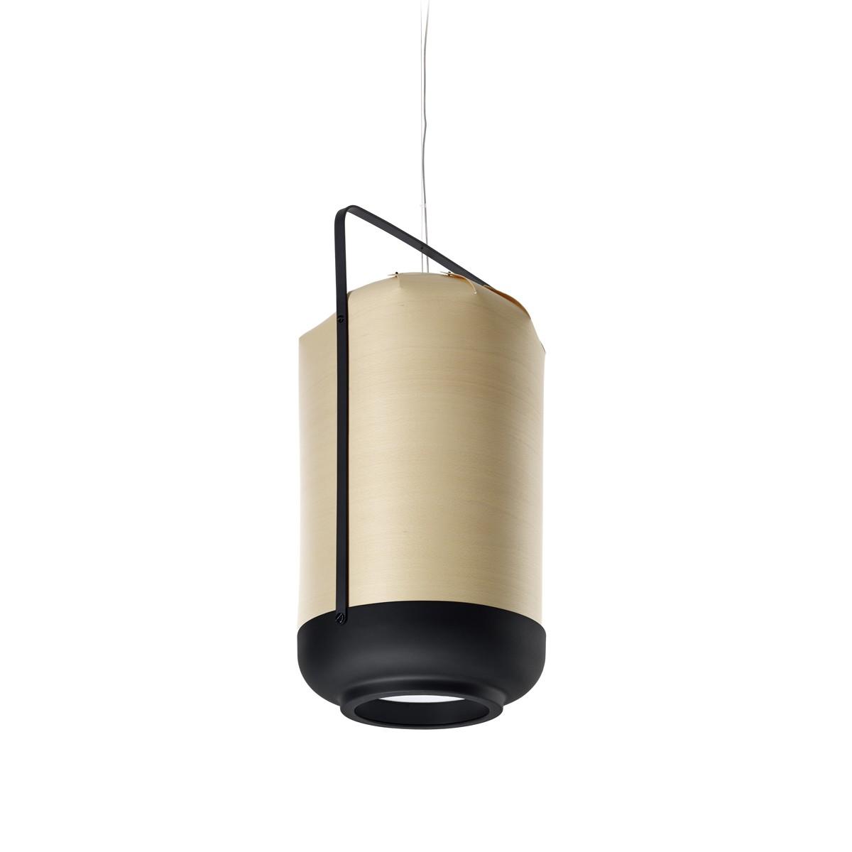 LZF Lamps Chou Tall Pendelleuchte, Buche
