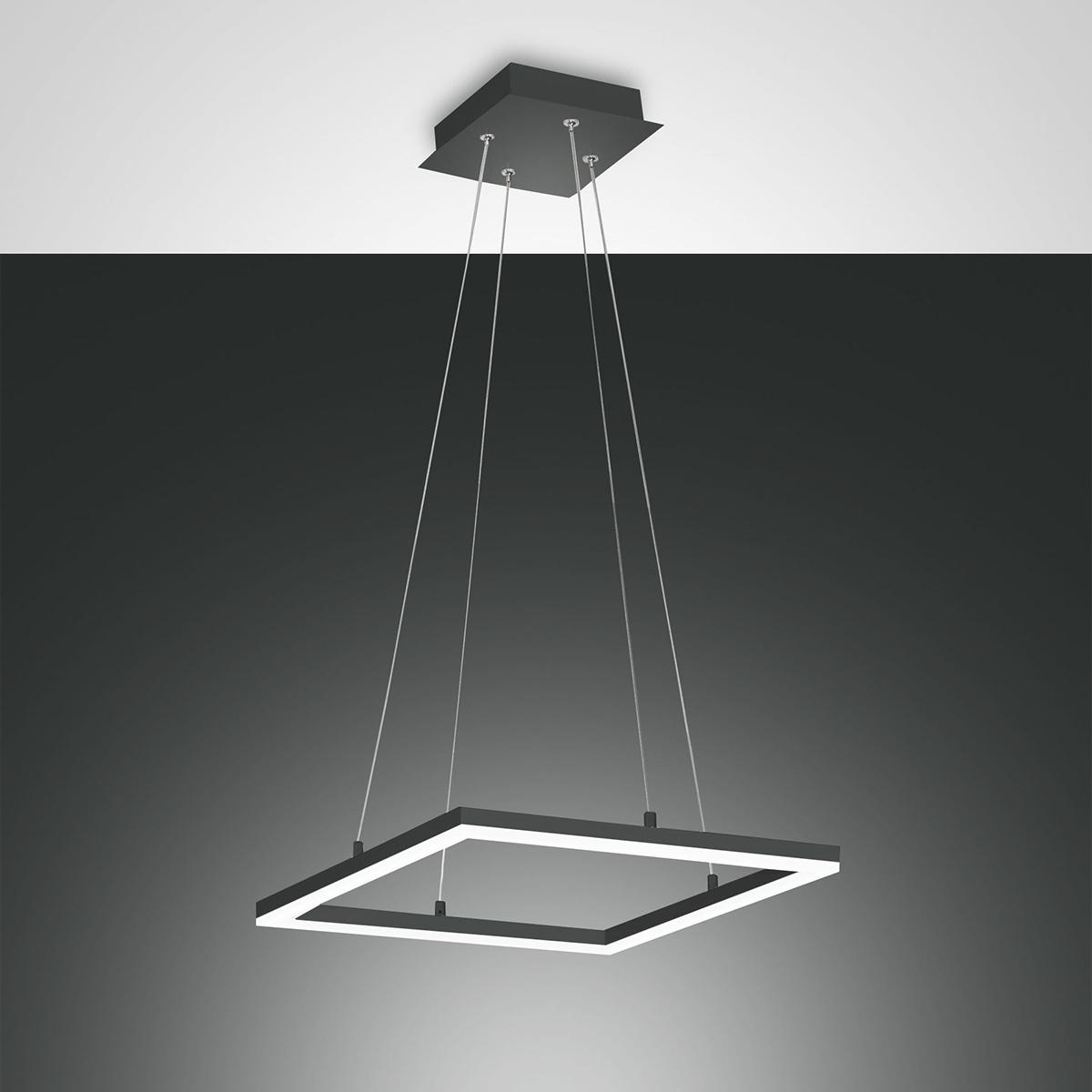 Fabas Luce Bard LED Pendelleuchte, quadratisch 3394-40-282