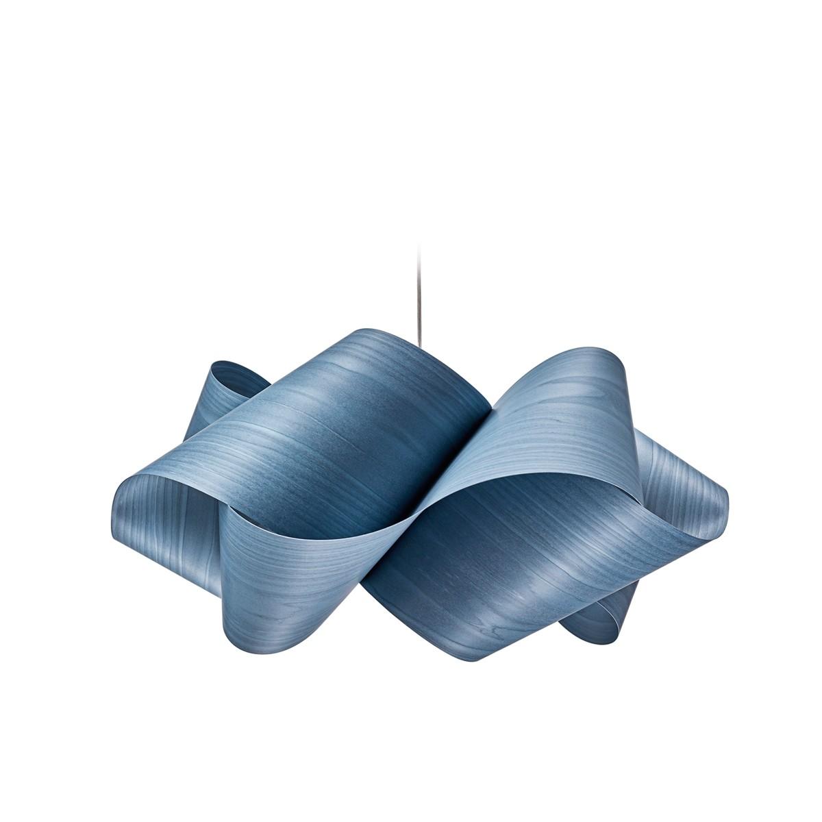 LZF Lamps Swirl Small Pendelleuchte, blau