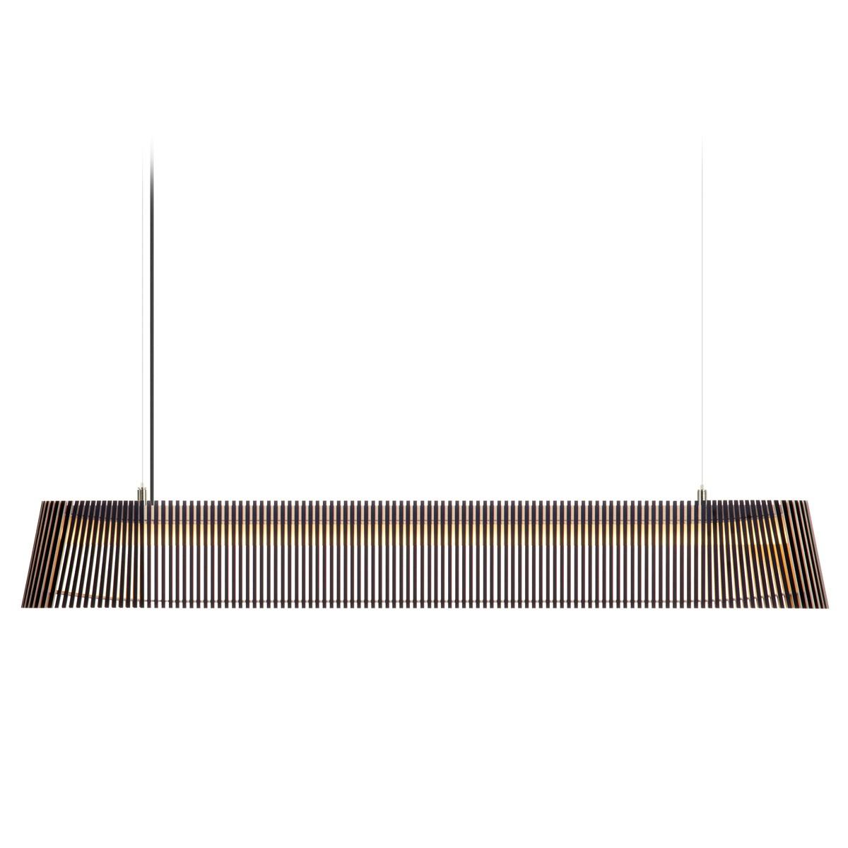 Secto Design Owalo 7000 Pendelleuchte, schwarz laminiert, Kabel: schwarz