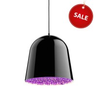 Can Can Pendelleuchte %Sale%, schwarz/violett