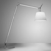 Artemide Design Tolomeo Maxi, Korpus: Aluminium, Schirm: Pergamentpapier