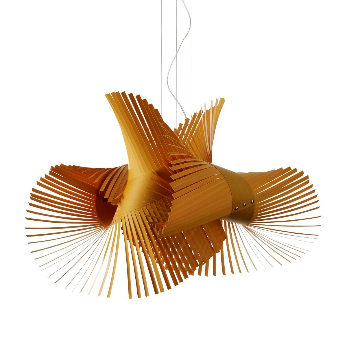 LZF Lamps MiniMikado Pendelleuchte, gelb