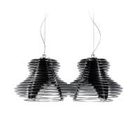 Faretto Suspension Double, black (schwarz)