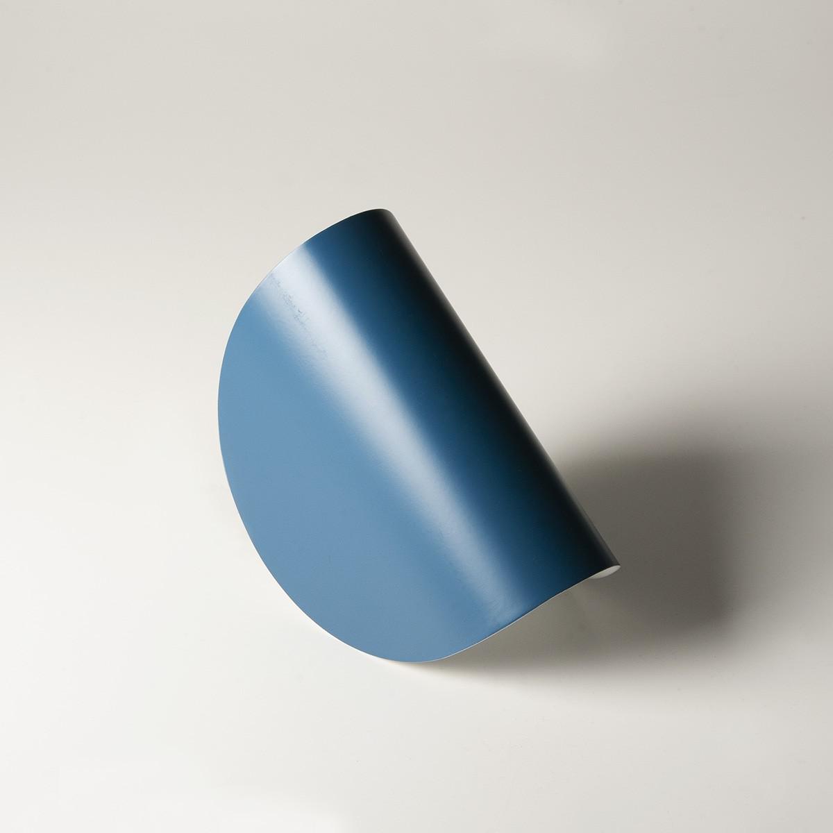 Fontana Arte Io LED Wandleuchte, Rückläufer, blau