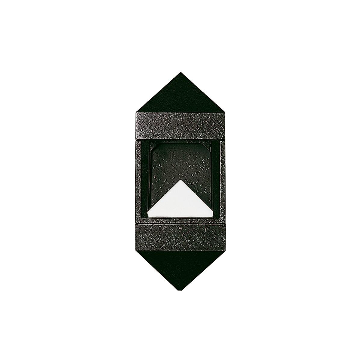 Albert 0699 Außenwandleuchte LED, schwarz