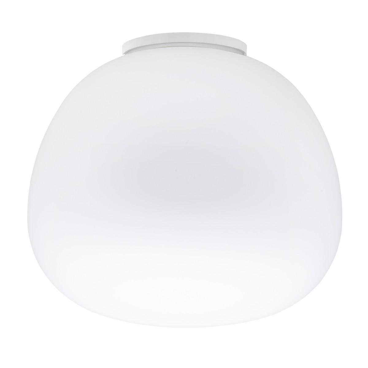 Fabbian Lumi Mochi Deckenleuchte, Ø: 45 cm, weiß