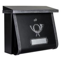 Multi Briefkasten, schwarz / antik