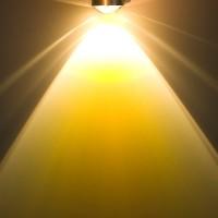 Top Light Puk Wall Wandleuchte, mit Puk Linse klar und Puk Farbfilter, gelb klar