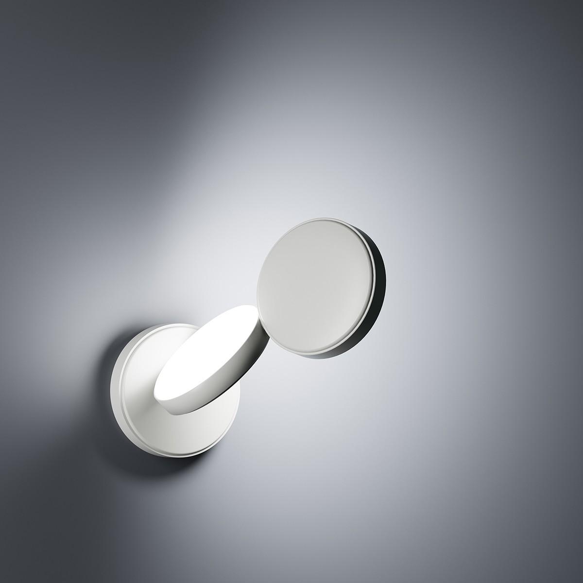 Fontana Arte Optunia LED Wandleuchte, weiss
