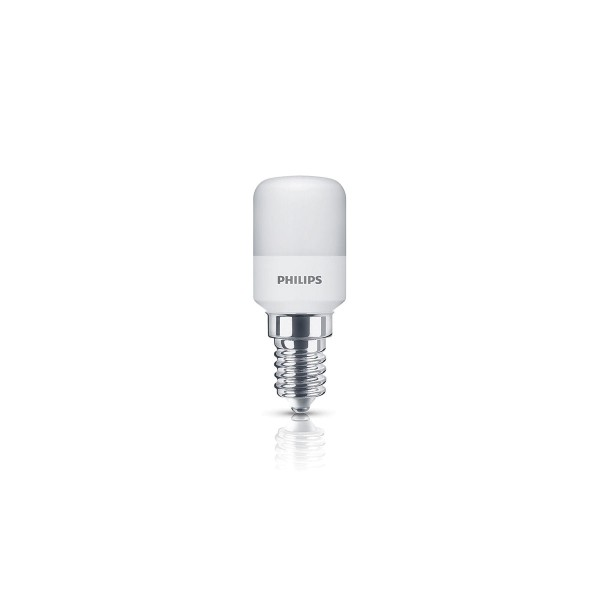 Philips LED Kühlschranklampe E14 1,7 W, warmweiß, matt
