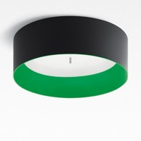 Tagora 570 Deckenleuchte LED, schwarz - grün, dimmbar