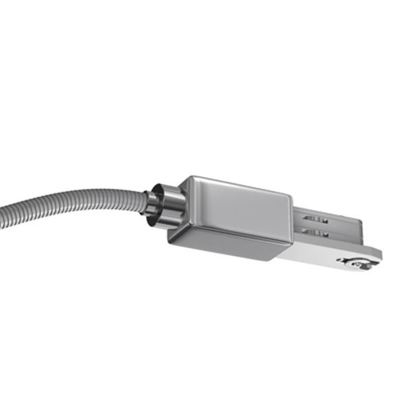 Bruck Duolare 230 V End Einspeisung ohne Anschlussdose, chrom