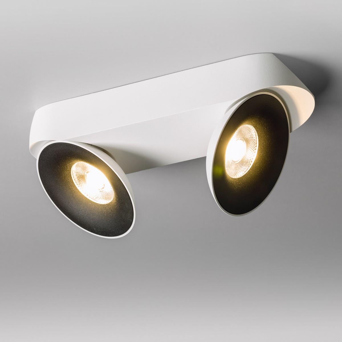 Lupia Licht Saturn 2 LED Deckenstrahler, weiß