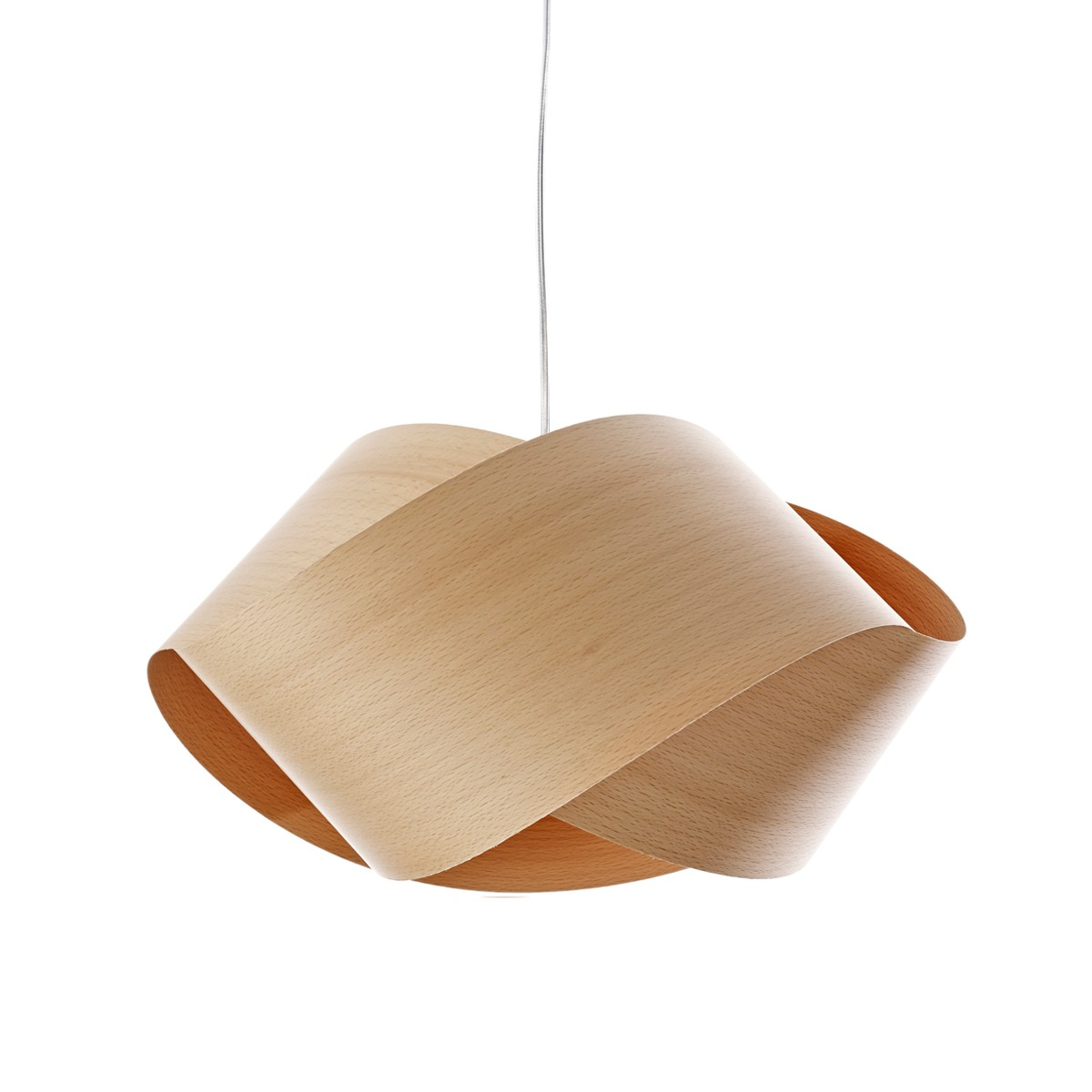 LZF Lamps Nut Pendelleuchte, Buche