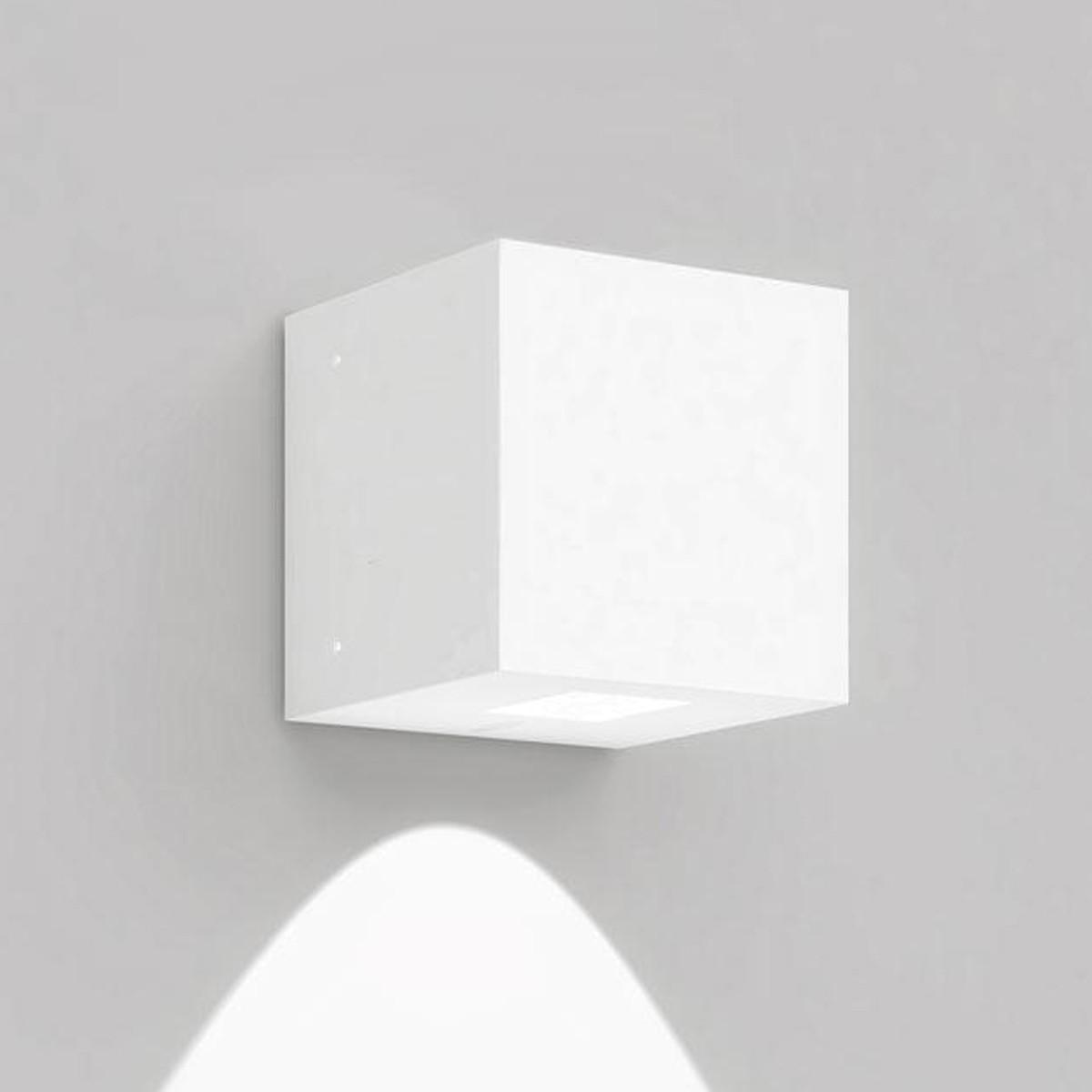 Artemide Outdoor Effetto 14S LED 1L Wandleuchte, 1 x 50°, 3000 K, hellgrau