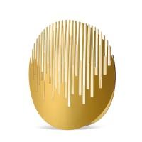 Cini & Nils Manhattanhenge Tavolo, Gold