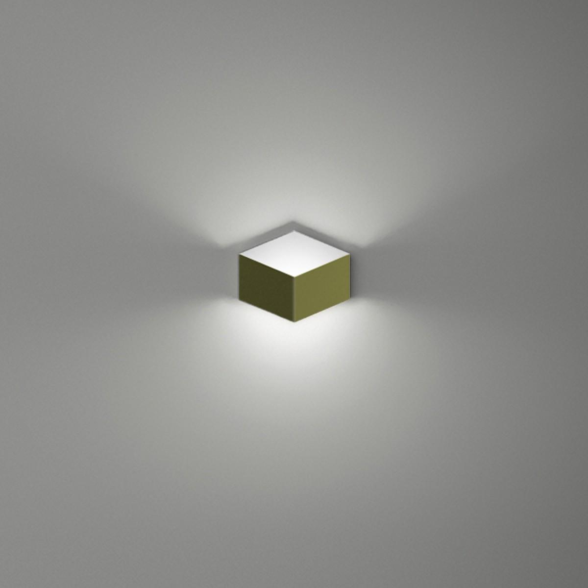 Vibia Fold 4200 Wandleuchte, grün matt