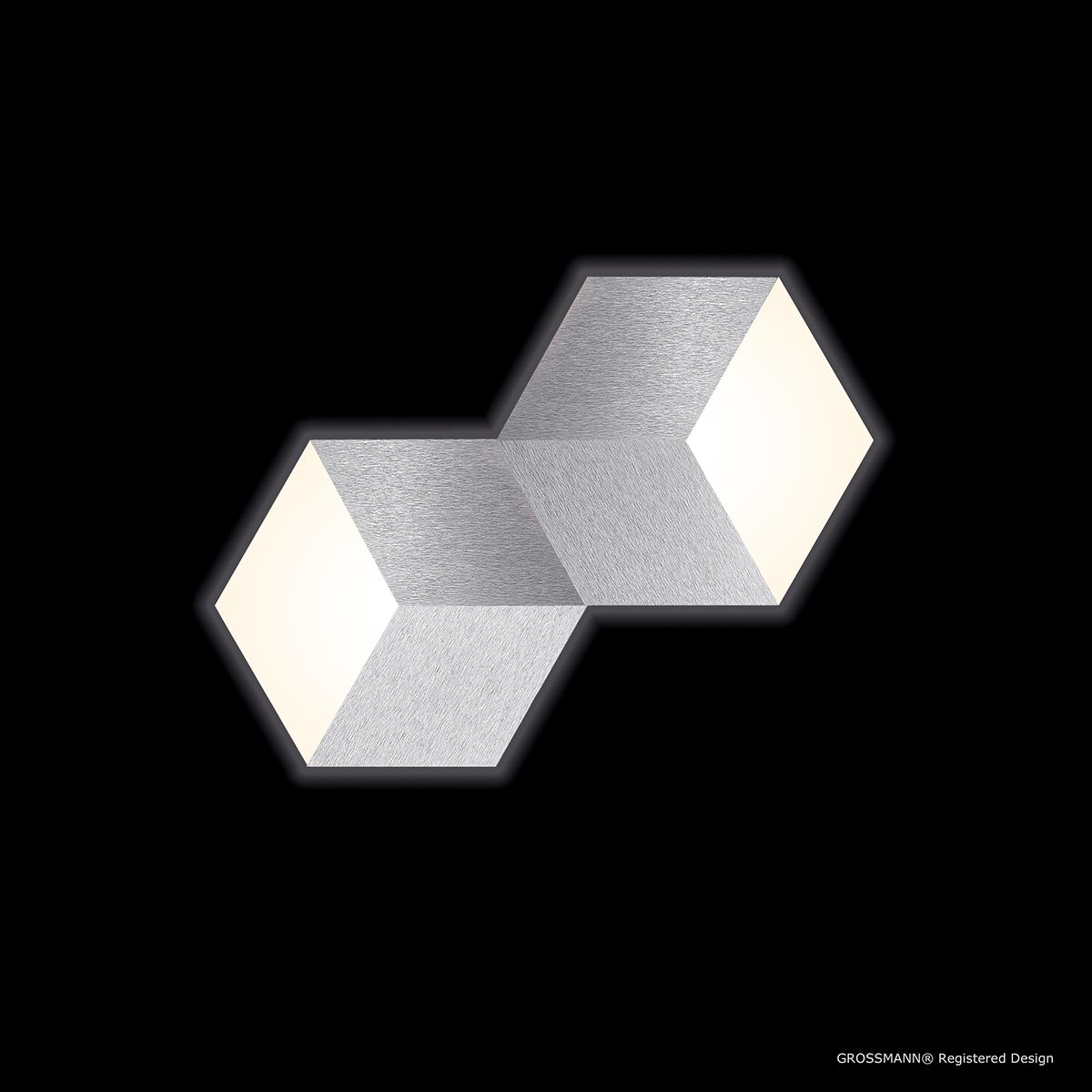 Grossmann Geo LED Wand- / Deckenleuchte 72-779-072
