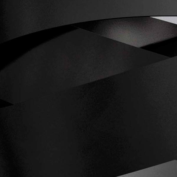 MARCHETTI Pura PL60 Deckenleuchte, E27, schwarz