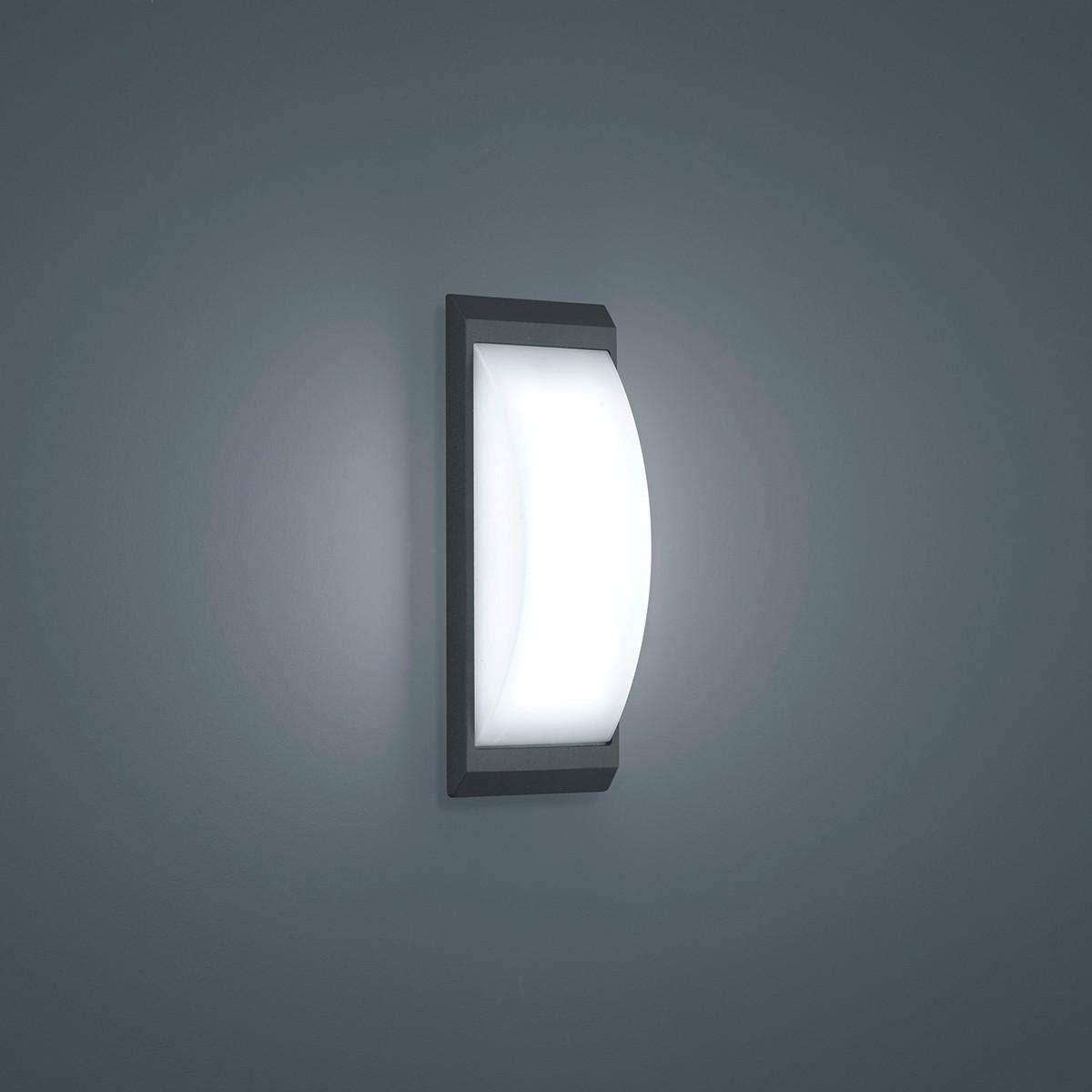 Helestra Kapo LED Außenwandleuchte, graphit