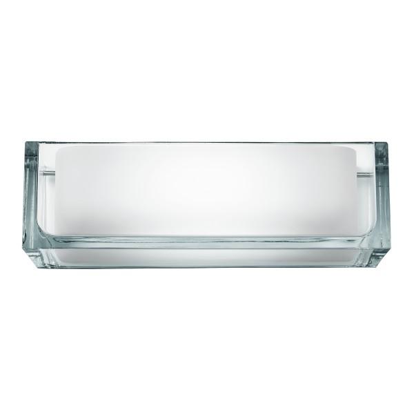 Flos Ontherocks Wandleuchte, Glas transparent