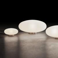 Holtkötter Amor T Tisch-/ Bodenleuchte LED, Nickel matt