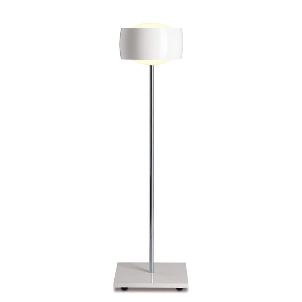 Oligo Grace LED Tischleuchte, weiß glänzend