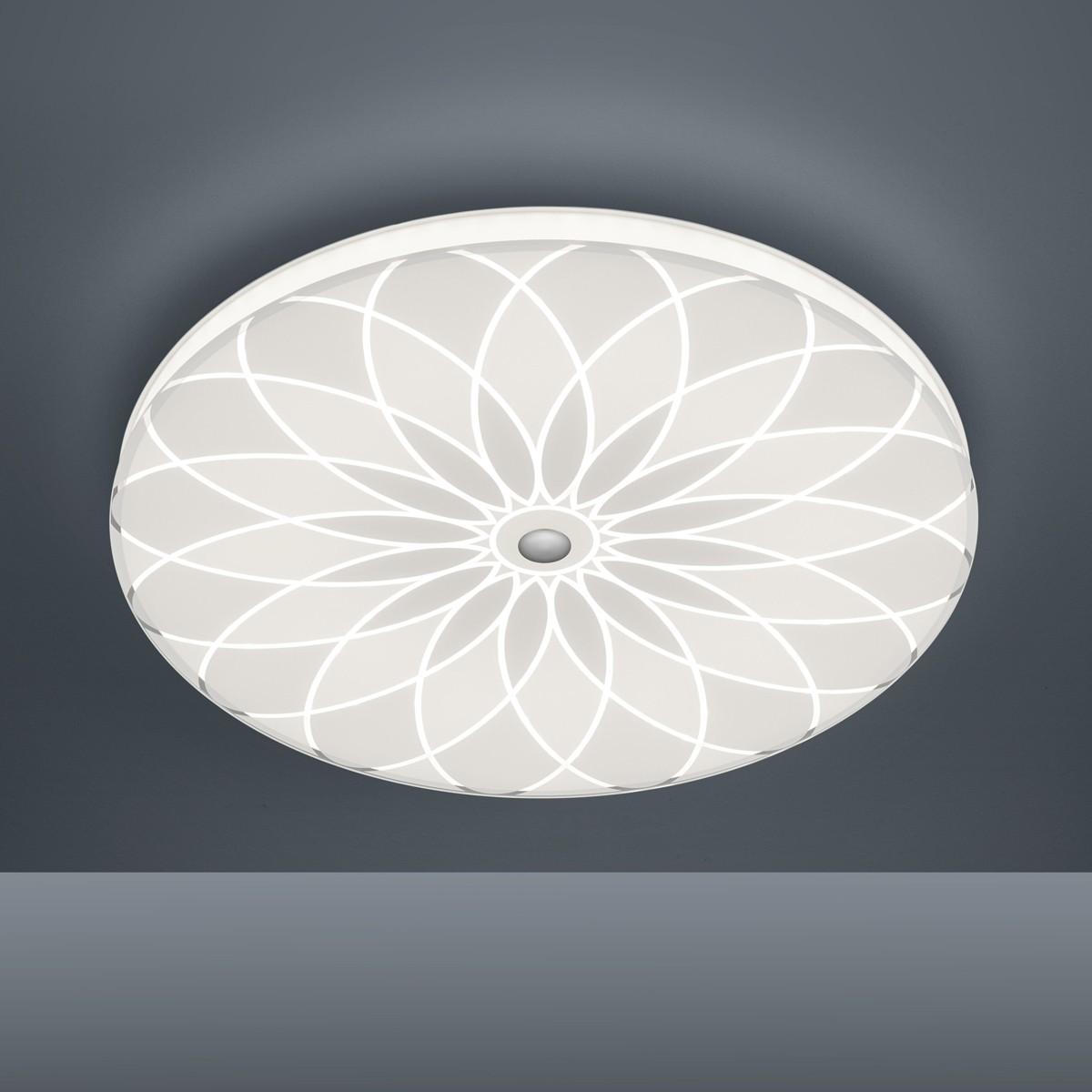 Bankamp Mandala 7718/9 Deckenleuchte, Ø: 42 cm, weiß