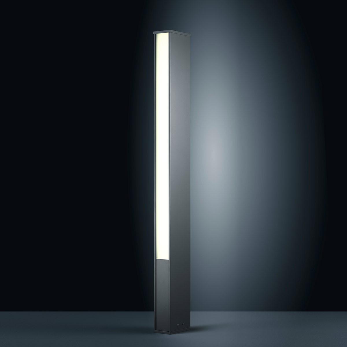 Helestra Tendo LED Außenstehleuchte, graphit