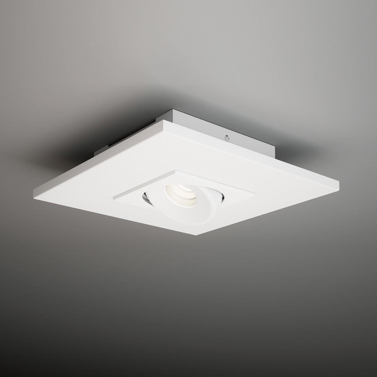 Milan Marc Deckenstrahler, 26 x 26 cm, weiß
