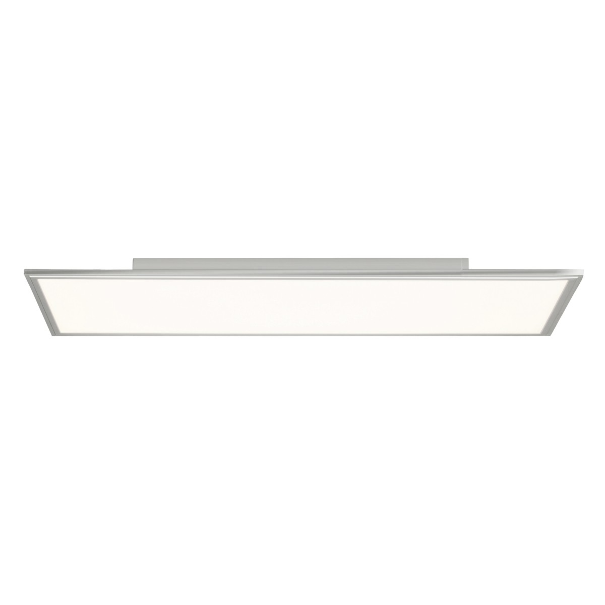 Brilliant Flat Deckenleuchte, rechteckig, Aluminium