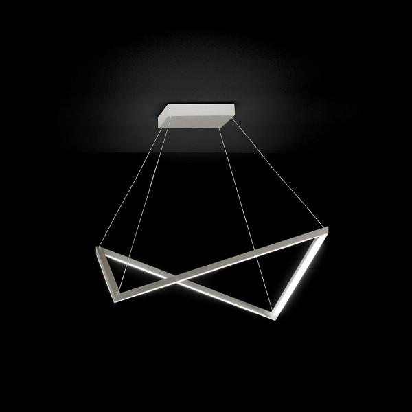 Grossmann Lox LED Pendelleuchte, Aluminium gebürstet
