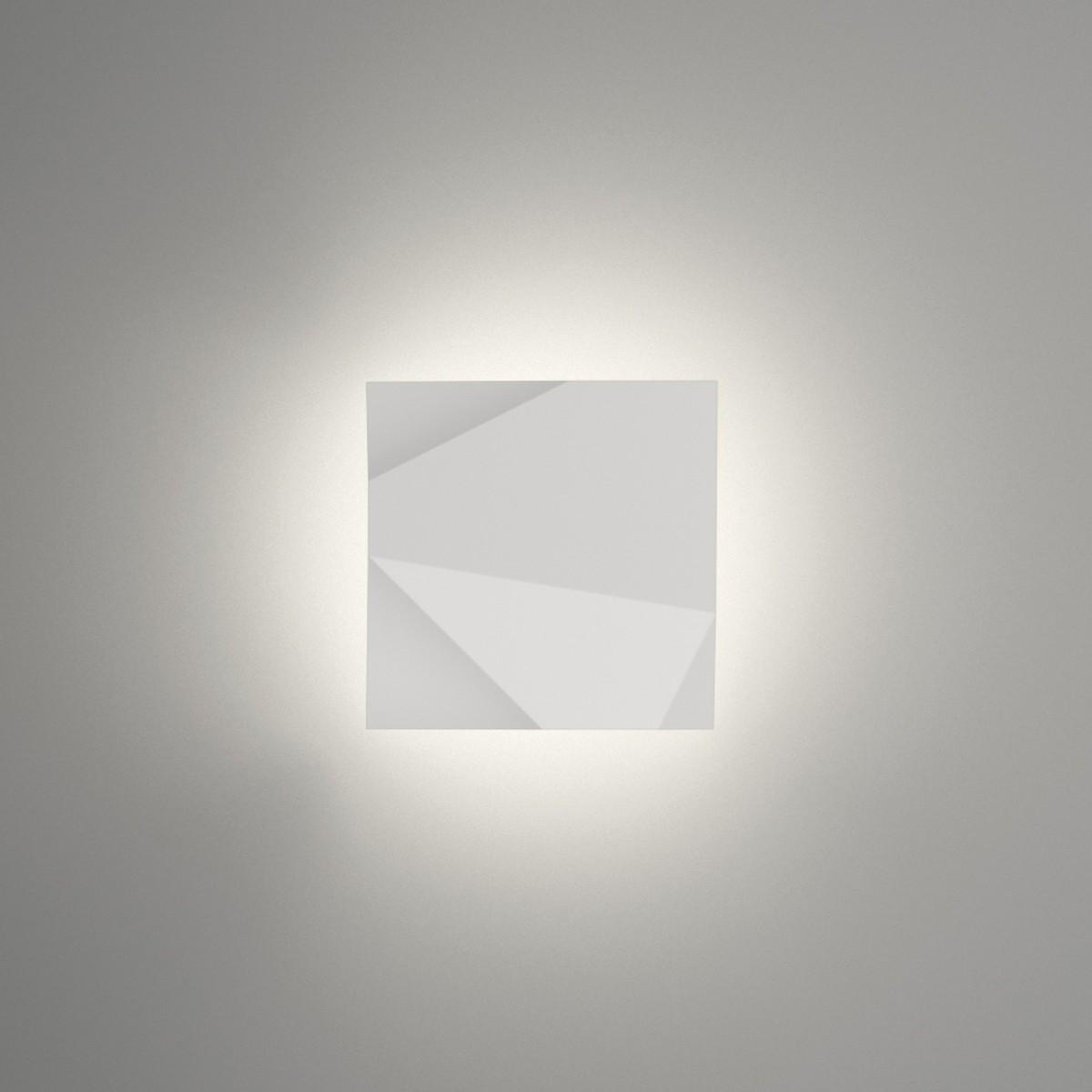 Vibia Origami 4500 Wandleuchte, weiß matt