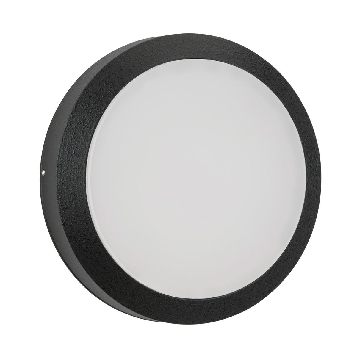 Albert 6404 Wand- / Deckenleuchte, schwarz