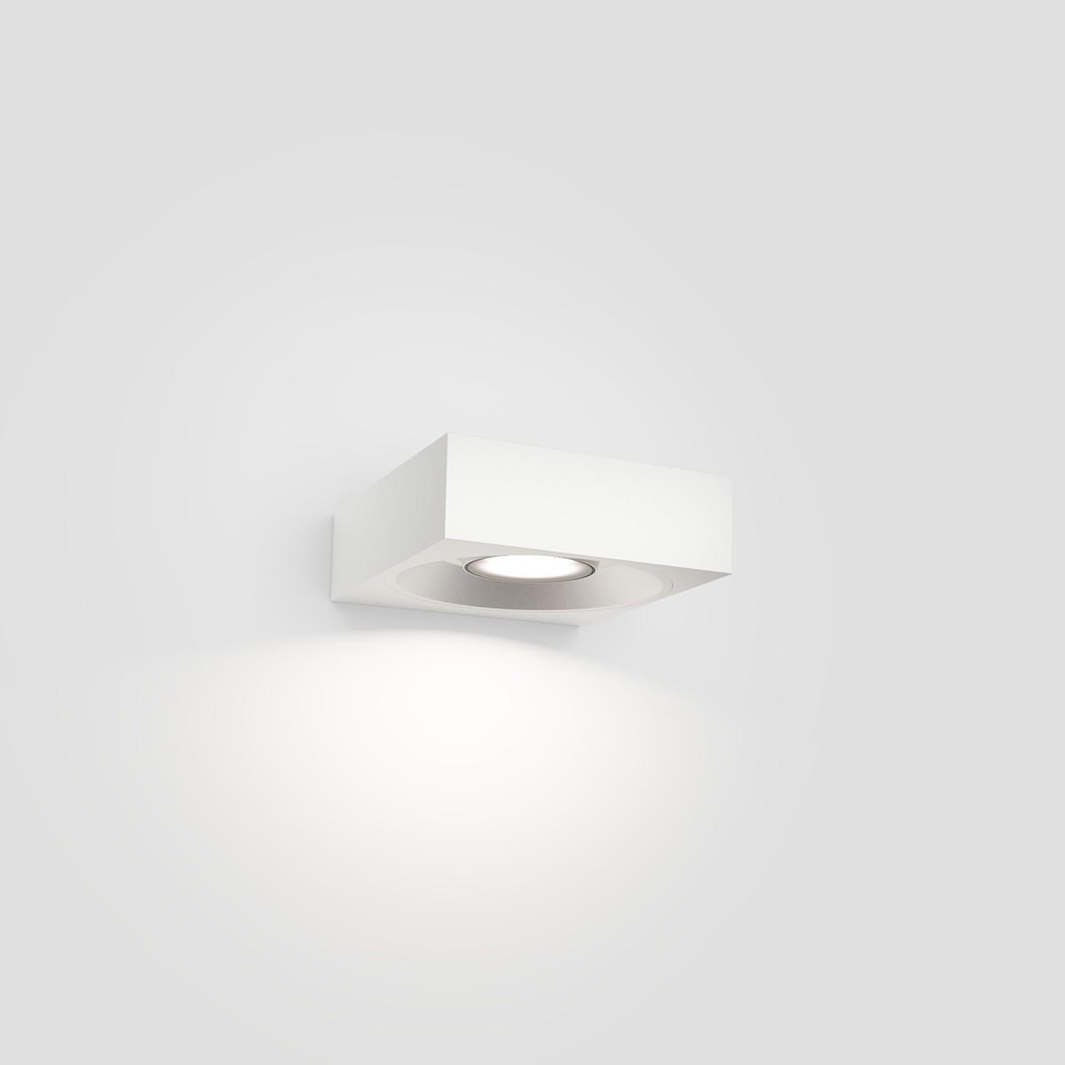 IP44.de Pip LED Außenwandleuchte, pure white (weiß)