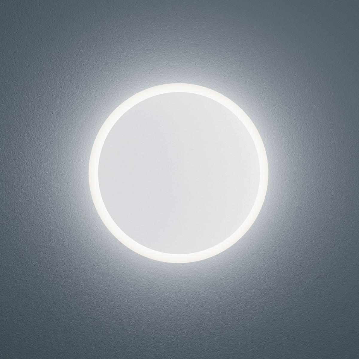 Helestra Solo LED Außenwandleuchte, weiß matt