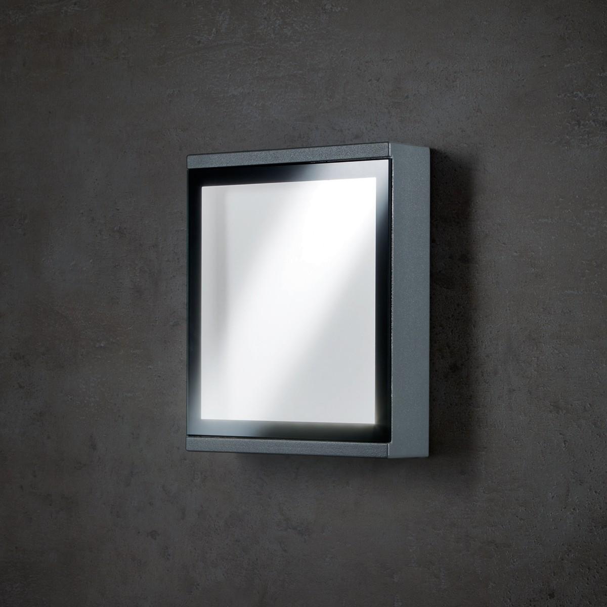 Lupia Licht Window Außenwandleuchte, anthrazit