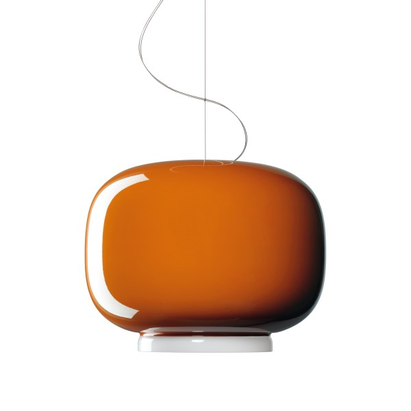 Foscarini Chouchin LED Sospensione, 1, arancio (orange)