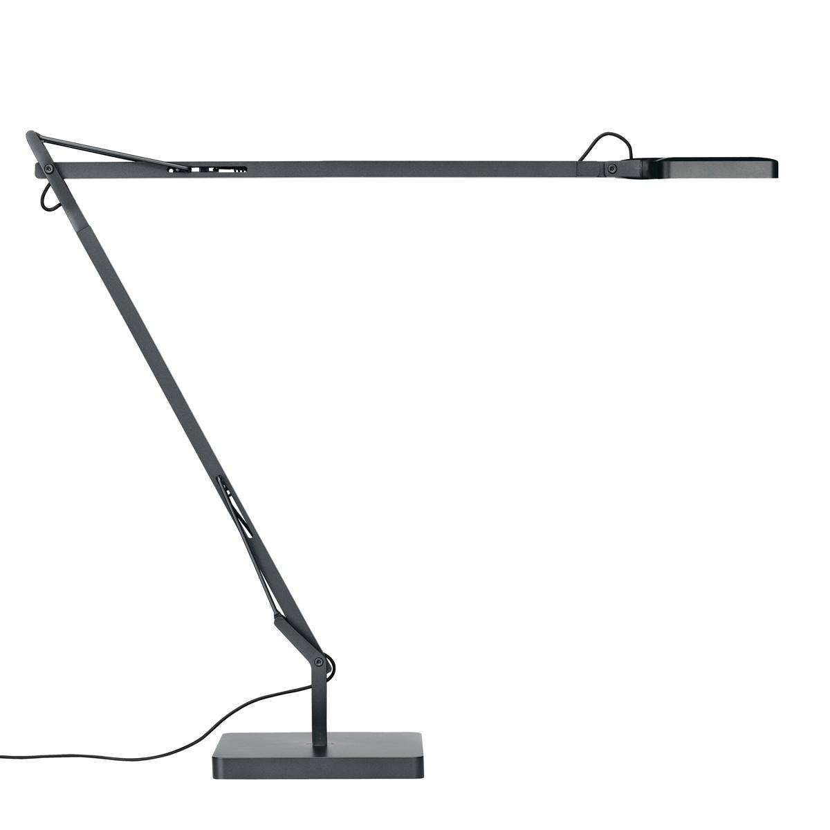 Flos Kelvin LED Tischleuchte, anthrazitgrau