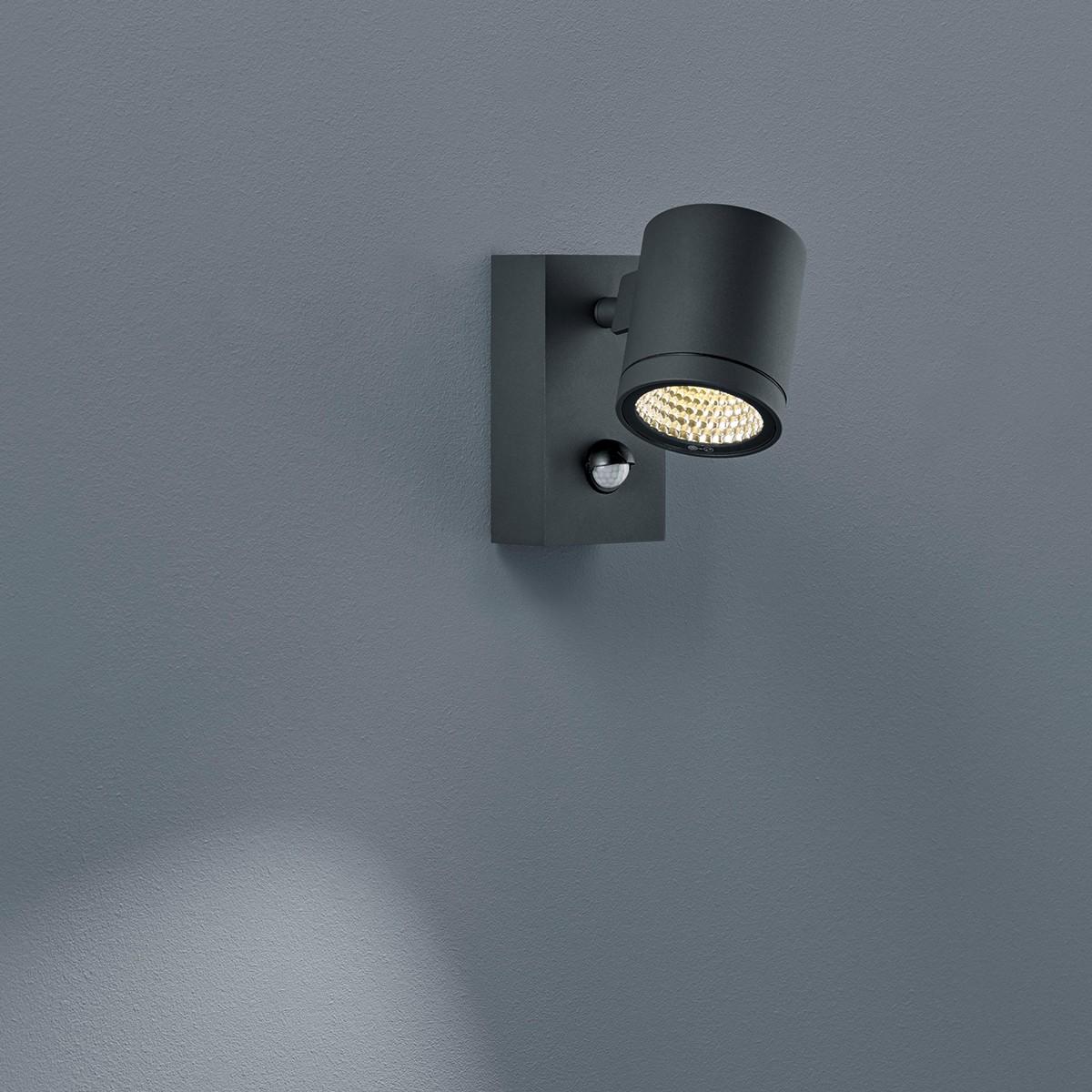Helestra Part LED Außenwandleuchte, graphit