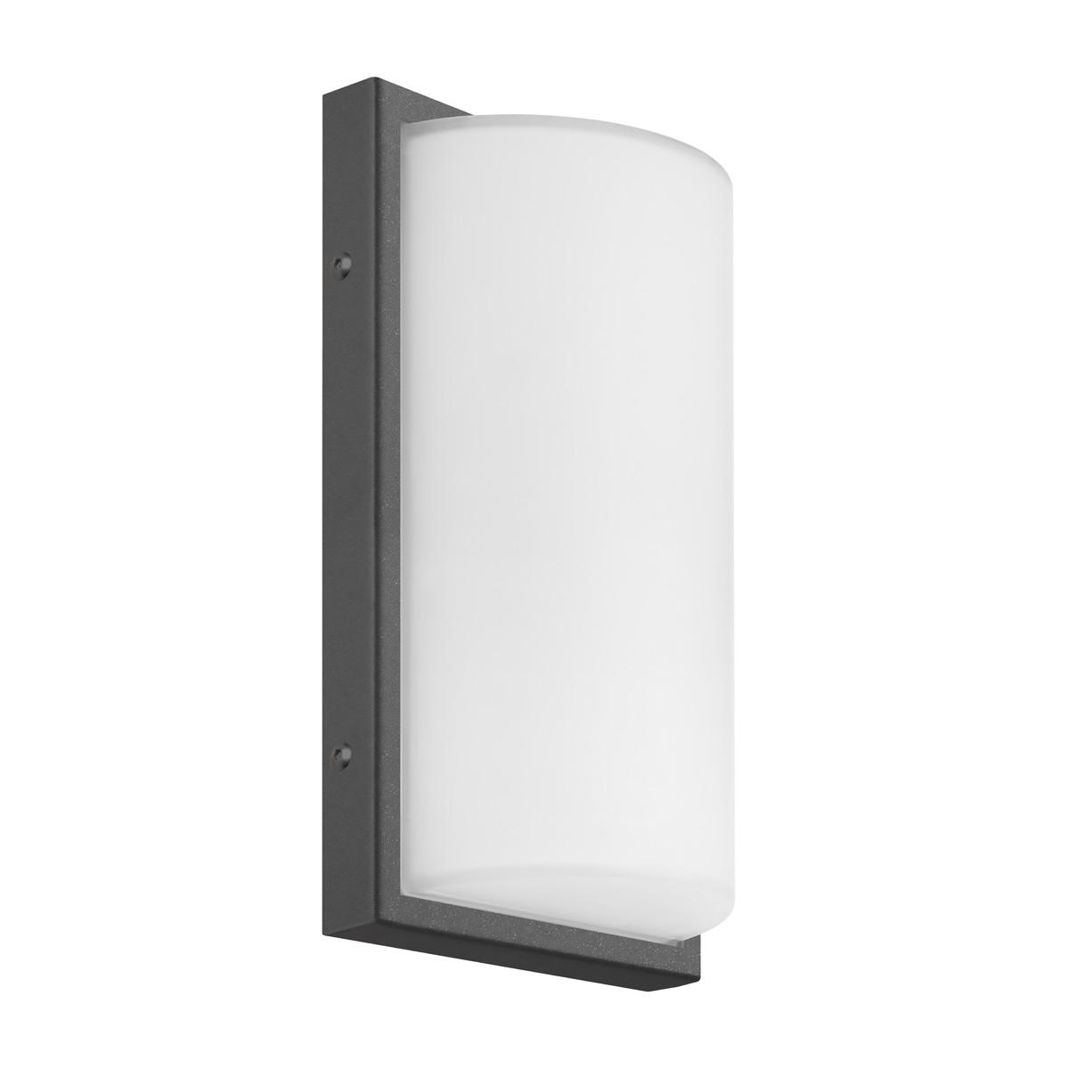 LCD Außenleuchten 039 Wandleuchte, graphit, ohne Bewegungsmelder