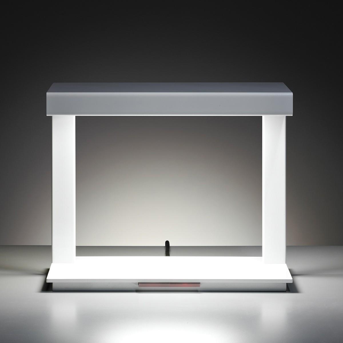 Tecnolumen Ton 09 Tischleuchte, weiß lackiert