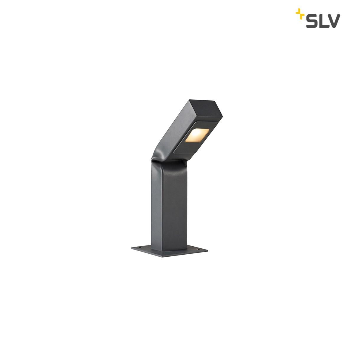 SLV Bendo LED Pollerleuchte, Höhe: 42 cm, anthrazit