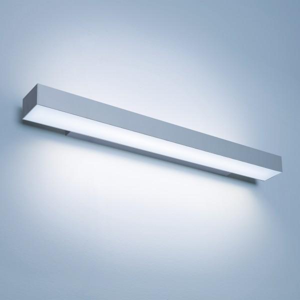 Lightnet Matric-W5 Wandleuchte, Opal, Aluminium natureloxiert