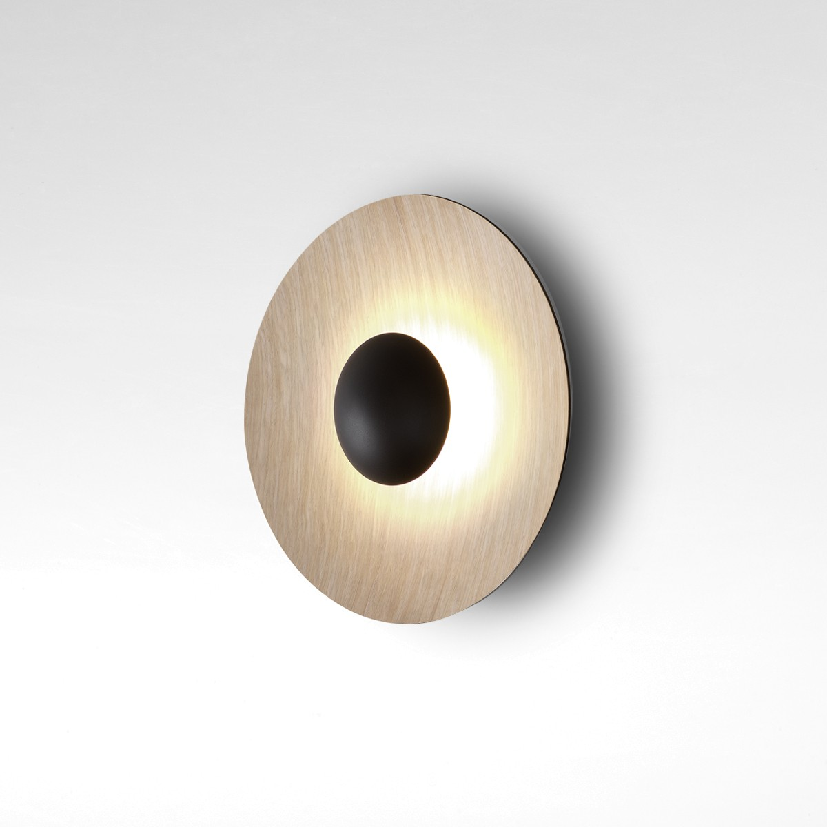 Marset Ginger 32 C LED Wandleuchte, Eiche